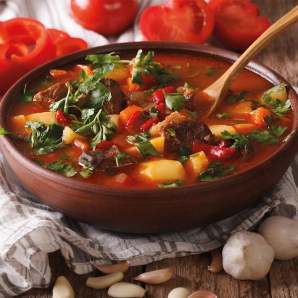 Kesselgulasch-Suppe / 2 Portionen, je 400 ml