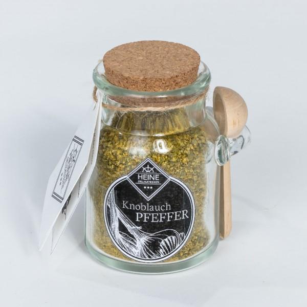Knoblauch-Pfeffer im Löffelglas