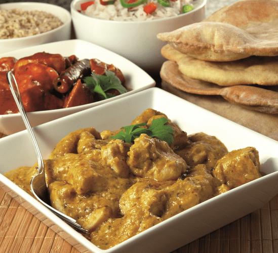 Hähnchen Ingwer-Curry